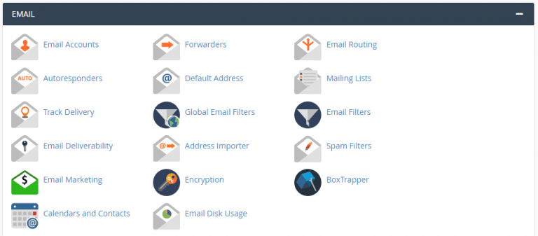 stop spam email in cpanel